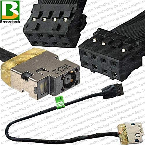 DC POWER JACK CABLE HP 15-G 15-R Envy 15J 15T-J 15Z-J 15-Q M6-N Compaq 15-H 15-S
