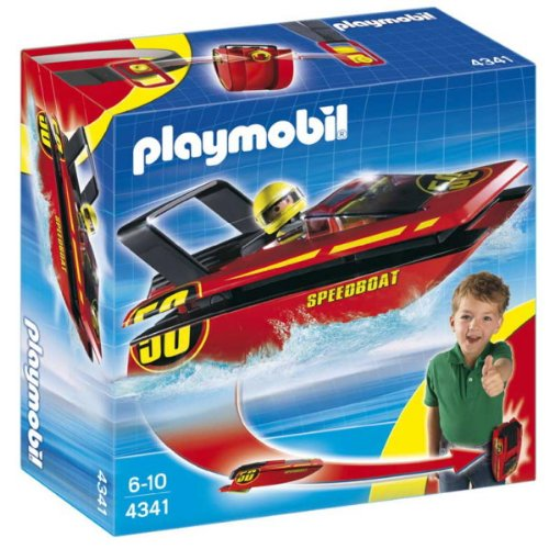 Review Playmobil 4341 Speed Boat