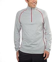 c1e20d249a Cloudveil Men s Pullover Lightweight Jogging Jacket Grey Large