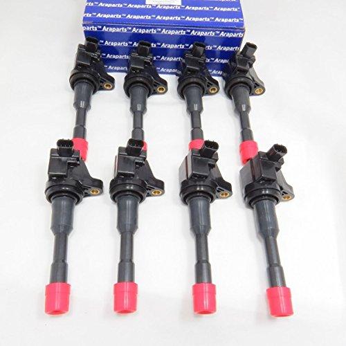 Set of 8 Ignition Coils for 2006-2011 Honda Civic Hybrid 1.3L