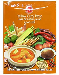 Cock Curry Pasta, Amarillo, 6 pack (6 x 50 g Paquete)