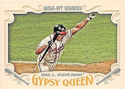 Andruw Jones Baseball Card Atlanta Braves Curacao Kid 2016 Topps
