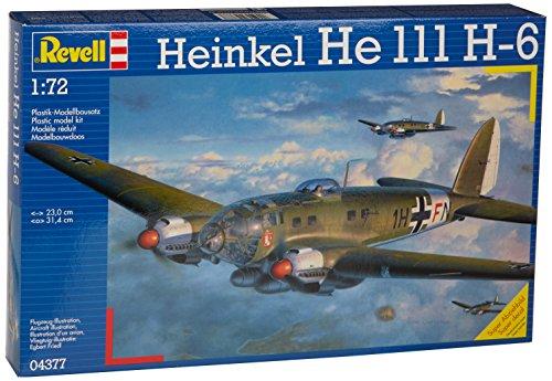 Revell Modellbausatz 04377 - Heinkel He111 H-6 im Maßstab 1:72