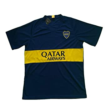 san francisco be96a aabdc Amazon.com : Boca Juniors Men's Soccer Jersey .New : Sports ...