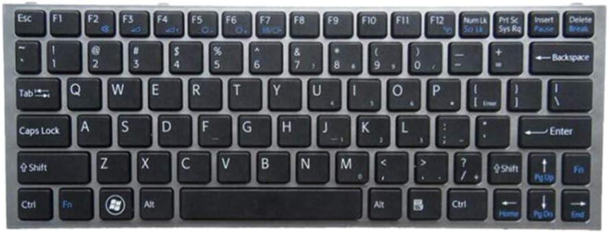 Almencla Teclado Completo de Laptop Keyboard Compatible para ...