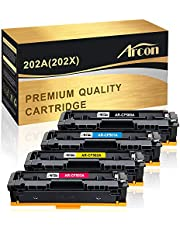 $91 » Arcon Compatible Toner Cartridge Replacement for HP M281FDW HP 202A 202X CF500A CF500X HP Laserjet Pro MFP M281fdw M254DW M281cdw M281DW M254DN M254NW M280NW M254 M281 CF500A CF501A CF502A CF503A Ink