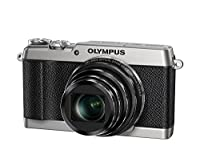 Olympus SH-2 Silver 16.0 Mpix 24x super wide Zoom, V107090SE000 (24x super wide Zoom 3.0 460K dots touch LCD, full HD 60p Movie, Smart Panorama, built-in Wi-Fi) - International Version (No Warranty) by Olympus