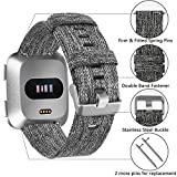 Welltin 2 Pack Bands Compatible with Fitbit