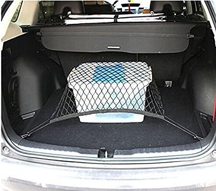 4 Hook Car Universal Trunk Cargo Net Mesh Storage Organizer for Benz Toyota Mazda Audi Subaru Forester Outback Ford Edge Escape Expedition Explorer Flex Focus Fusion Windstar N.A 9 Moon