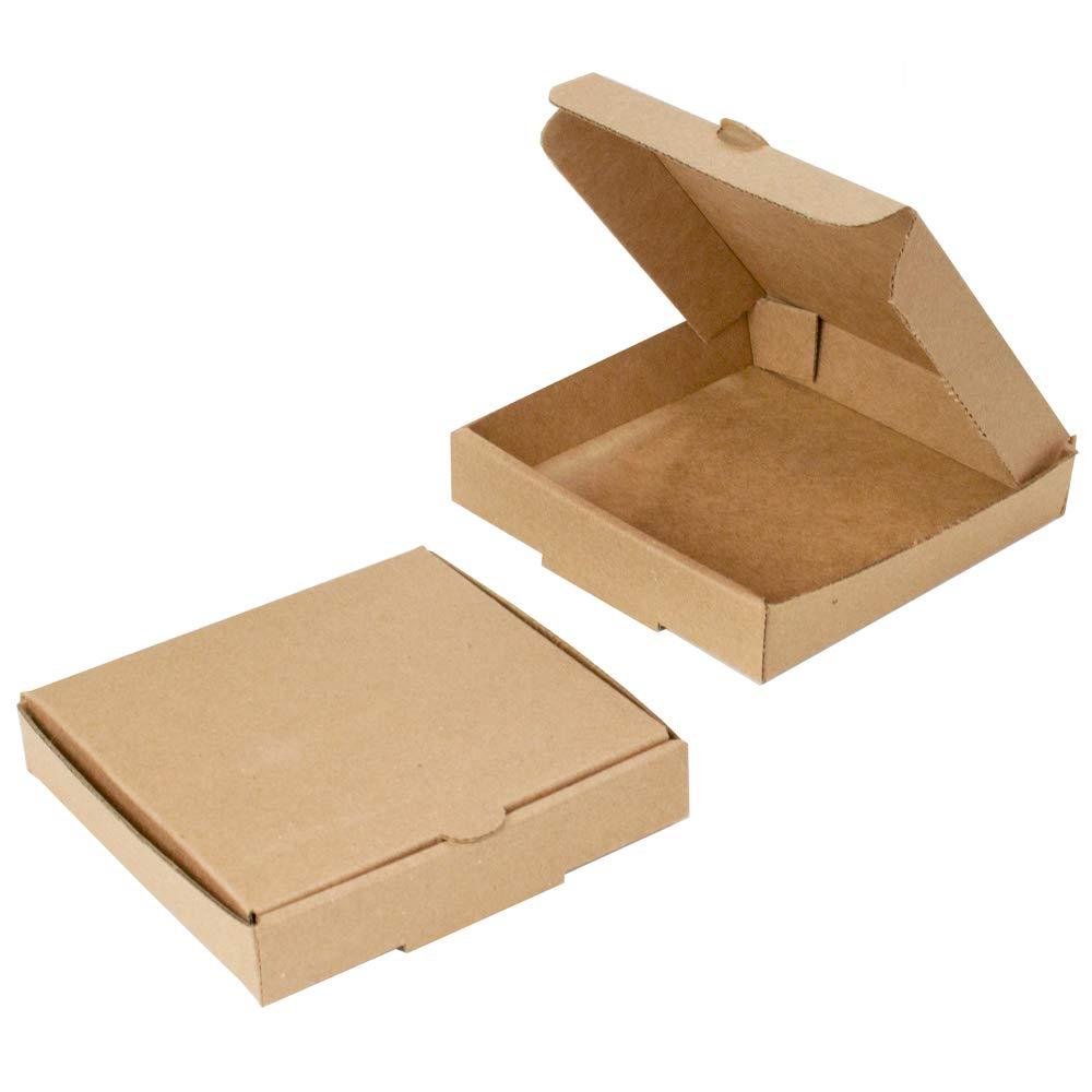 Mini cajas de pizza Kraft de 12,7 cm (8 unidades) – Marca Chica y Jo – Cajas de cartón cuadradas planas de 12,7 cm: Amazon.es: Industria, empresas y ciencia