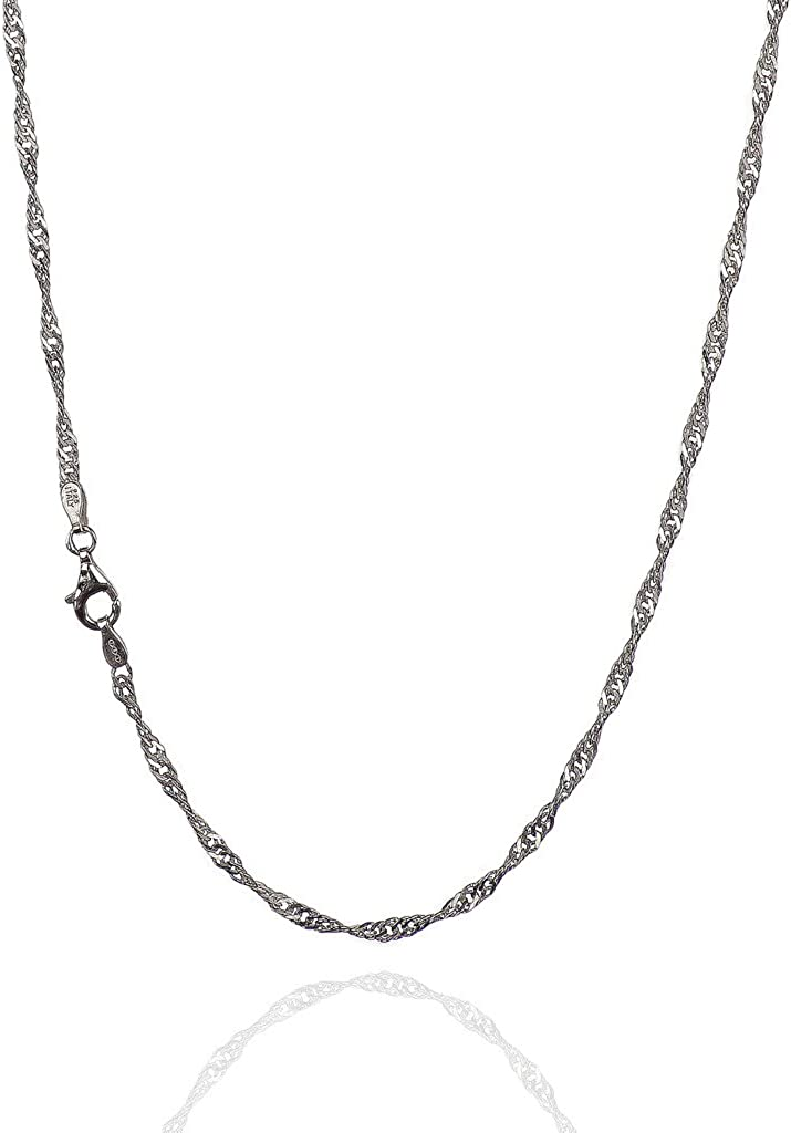 Kitty Cat Necklace ~Sterling Silver~ Hand Cast w 20 inch Sterling Chain