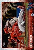 Mike Trout (5) Assorted Baseball Cards Bundle - Los