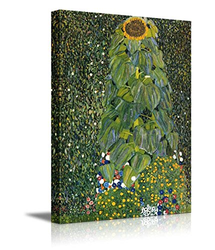 Sunflower by Gustav Klimt Austrian Symbolist Painter