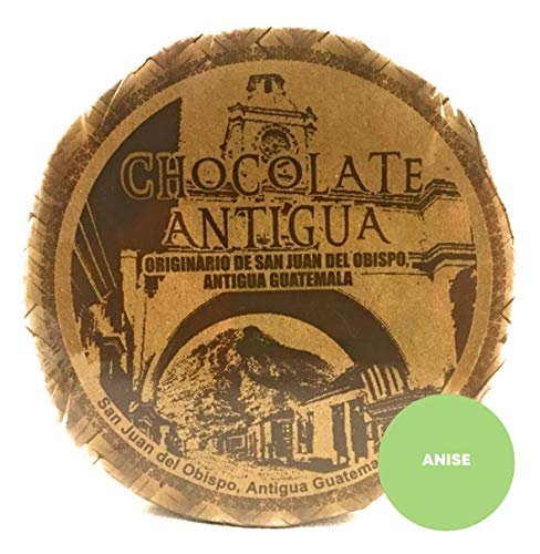 Chocolate Antigua Drink Mix From Guatemala Made With Roasted Criollo Cacao Beans and Spices Simply Delicious a Most Perfect Comfort Drink or Sweet Snack (Anise)
