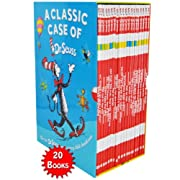 Classic Case of Dr. Seuss - 20 Books Set (Includes Lorax New)