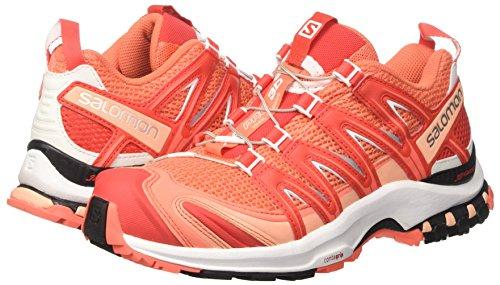 3d Xa Coral Red Trail Shoes Orange Salomon Women''s white poppy Running living Pro W AtxCwwqv