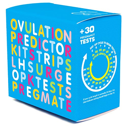 PREGMATE 60 Ovulation LH and 30 Pregnancy HCG Test Strips Predictor Kit Combo (60 LH + 30 HCG)