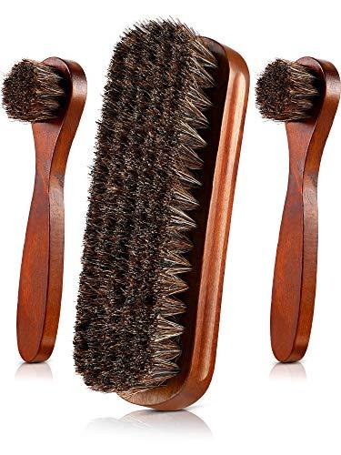 horse hair boot brush - 3