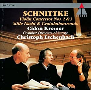 Alfred schnittke christoph eschenbach chamber orchestra for Chamber orchestra of europe