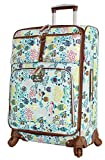 Lily Bloom Luggage Carry On Expandable Design Pattern Suitcase For Woman With Spinner Wheels (Aquarium Life, 20in)