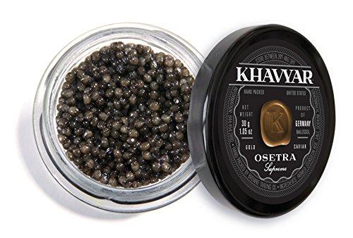 Caviar by Khavyar || Osetra Caviar Supreme – 30g