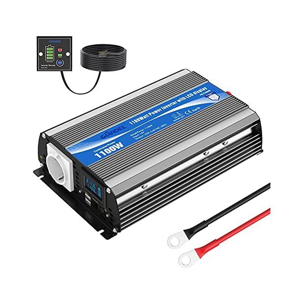 51buSr4MwwS 2000W Modifizierter Welle Wechselrichter 12v auf 230v Spannungswandler Umwandler-Inverter Konverter mit Fernbedienung…