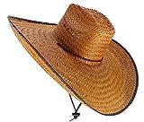 Sharpshooter Big Boss Hoss Sun Protection River Beach Party Cowboy Sombrero Hat