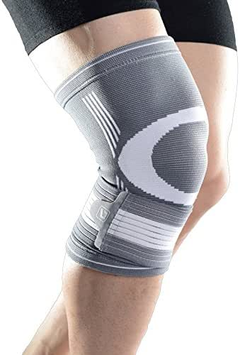 Liveup SPORTS Knee Braces - Compression Knee Support Brace with Adjustable Straps Elastic Bandage for Running, Jogging, Sports, Joint Pain Relief, Arthritis and Injury Recovery