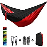 Features: ·100% Brand new, softer & stronger than most other hammocks. feel the soft silky touch and the breathable material. ·Easy to be cleaned and dry quickly after being wet.  ·Durable, colorful, lightweight and portable. ·Strong hammock with...