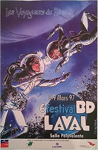 Télécharger en ligne Mézières - Laval 1997 - Les Voyageurs du rêve - affichette 44 x 30 cm epub, pdf