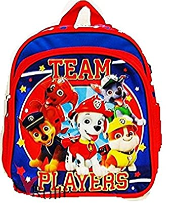 Amazon Com Paw Patrol 10 3d Small Backpack Boys Bag Toddler