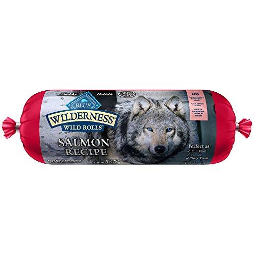 BLUE Wilderness Adult Grain-Free Wild Rolls Salmon Wet Dog Food 2.25-lb