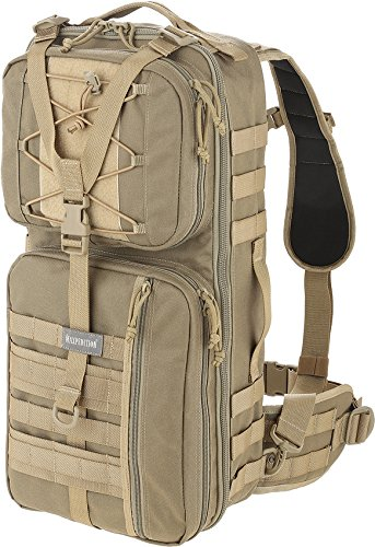 Maxpedition Pecos Gearslinger Backpack, Large, Khaki by Maxpedition