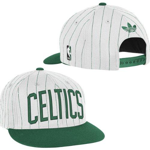 Adidas Boston Celtics Pinstripe Snapback Hat