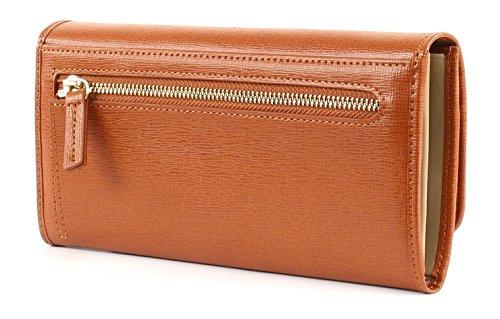 LA MARTINA La Portena Lady Wallet With Flap Tan