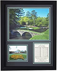 Legends Never Die, Inc. Augusta National Golf Course Collage Framed Photo