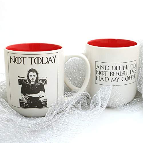 Not Today - Arya Stark Game of Thrones Mug