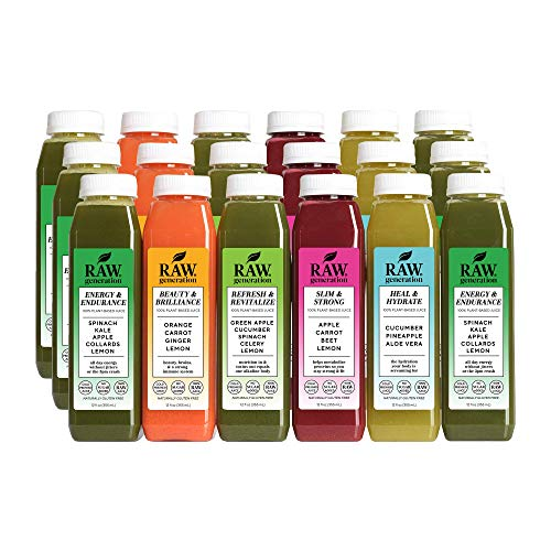 3-Day Skinny Cleanse by Raw Generation® - Best Juice Cleanse to Lose Weight Quickly/Healthiest Way to Cleanse & Detoxify Your Body/Jumpstart a Healthier Diet