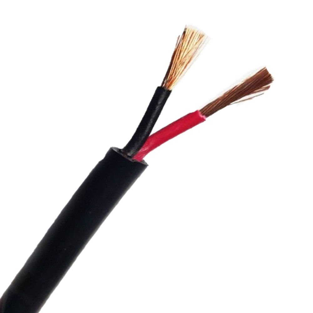 Wire4u 12V 24V AUTOMOTIVE 2/3/4/5/7 CORE THINWALL RED/BLACK CAR CABLE WIRE ROUND/FLAT (Round 3 Core 0.75mm² 14Amps, 10 Metres)