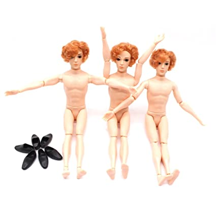 Really. happens. naked men with ken doll bodies happens