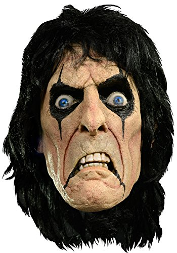Trick Or Treat Studios Men's Alice Cooper Mask, Multi, One Size for $<!--$51.00-->