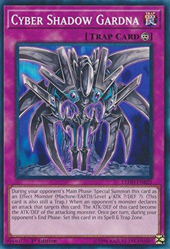 (Cyber Shadow Gardna - LEDD-ENB21 - Common - 1st Edition - Legendary Dragon Decks (1st Edition) )