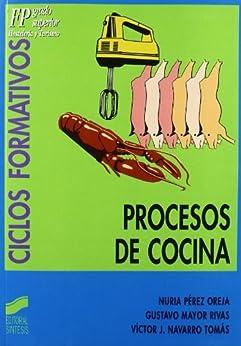 Ebooks kindle procesos de cocina ciclos - Grado medio de cocina ...