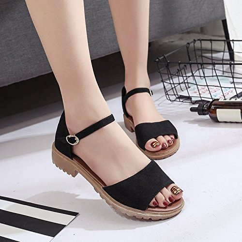 Las Y Sandalias De Con Bajos Zapatillas Mujer White Rugai Pies 7rrXURqx