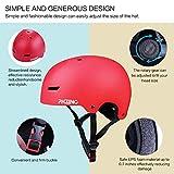 PHZING Skateboard Helmet with Adjustable System