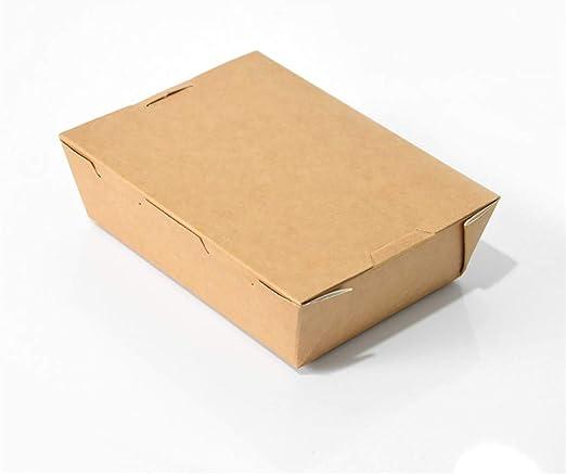 Xiao-bowl3 Caja de Comida Americana Caja de Comida Contenedor de Comida Bento Picnic Respetuoso con el Medio Ambiente con Tapa Microondas Fiambreras Nevera Almacenamiento Vajilla (Color : 1650ml): Amazon.es: Hogar
