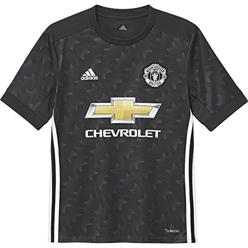 adidas Manchester United FC Away Youth Jersey [Black] (L)