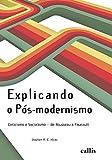 capa de Explicando o Pós-Modernismo. Ceticismo e Socialismo