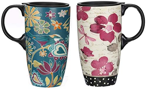 Topadorn Ceramic Latte Coffee Sealed product image