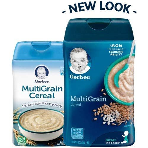 Gerber Multigrain Baby Cereal (Pack of 2)